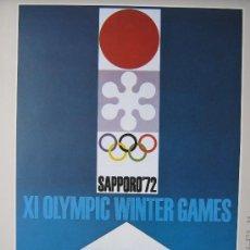 Coleccionismo deportivo: JUEGOS OLÍMPICOS 1968 -1976 ( COLECCIÓN 6 CARTELES). . Lote 27254127
