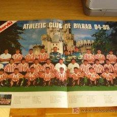 Coleccionismo deportivo: ATHLETIC DE BILBAO. PÓSTER DE LA TEMPORADA 94-95 ( PLANTILLA ). Lote 27277596