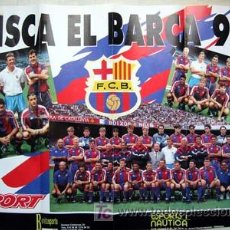 Coleccionismo deportivo: VISCA EL BARÇA 94. CARTEL SPORT 80X60 CM.. Lote 13462826
