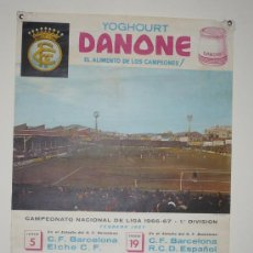Coleccionismo deportivo: CAMPEONATO NACIONAL DE LIGA 1966-67 1ª DIVISION TAMAÑO 620X440. Lote 5551210