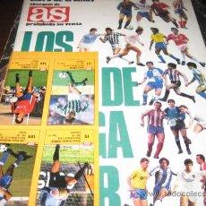 Coleccionismo deportivo: LOS ASES DE LA LIGA 87-88 VACIO. Lote 8665935