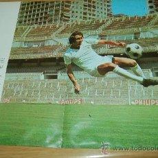 Coleccionismo deportivo: REAL MADRID : MINIPÓSTER DE PIRRI. Lote 25167272