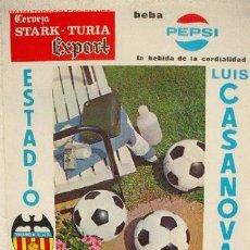 Coleccionismo deportivo: CARTEL FUTBOL VALENCIA C.F. CORK HIBERNIAN , IRLANDA , COPA EUROPA FERIAS, 1970. Lote 235034160