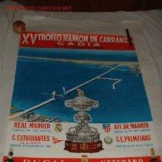 Coleccionismo deportivo: XV TROFEO CARRANZA.CADIZ 1969. Lote 4827917