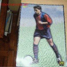 Collectionnisme sportif: BARÇA: LÁMINA DE XAVI. 1998. Lote 1968583