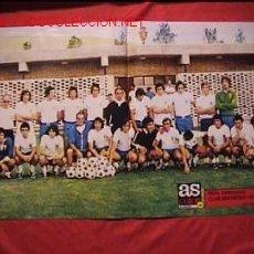 Coleccionismo deportivo: CARTEL POSTER REAL ZARAGOZA CLUB DEPORTIVO 1974. Lote 12251822