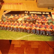 Coleccionismo deportivo: BARÇA: GRAN POSTER TEMPORADA 1994-95. Lote 27277617