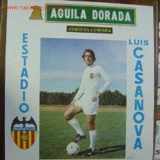 Coleccionismo deportivo: CARTEL DE FUTBOL - 1ª DIVISION - VALENCIA C.F.-ATH. BILBAO, ELCHE C.F. - AÑO 1977, JUAN CARLOS. Lote 97838579