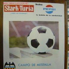 Coleccionismo deportivo: CARTEL DE FUTBOL - XI COPA DE FERIAS - VALENCIA C.F. - SPORTING CLUB DE PORTUGAL - AÑO 1968. Lote 21289841
