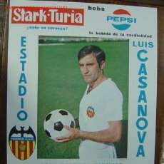 Coleccionismo deportivo: CARTEL DE FUTBOL - LIGA 1ª Y 3ª DIVISION - VALENCIA C.F.-R.C.D. MALLORCA - AÑO 1969. Lote 121015879