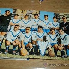 Coleccionismo deportivo: CD. EUROPA : PÓSTER DE LA TEMPORADA 66-67. Y UN DETALLITO DE REGALO.. Lote 17772014