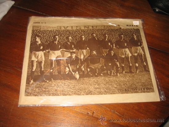 EL OVIEDO POSTER DEL MARCA (Coleccionismo Deportivo - Carteles de Fútbol)