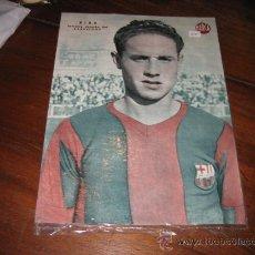 Coleccionismo deportivo: RIBA EXTREMO DERECHO DEL BARCELONA LAMINA DEL MARCA. Lote 11450085