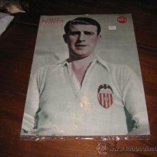 Coleccionismo deportivo: LECUE MEDIO IZQUIERDO DEL VALENCIA LAMINA DEL MARCA. Lote 11450239