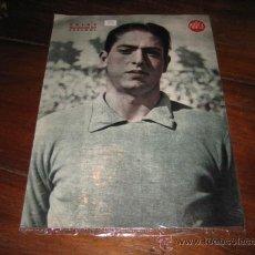 Coleccionismo deportivo: TRIAS GUARDAMETA DEL ESPAÑOL LAMINA DEL MARCA. Lote 11450715
