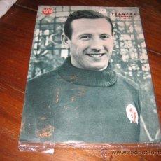 Coleccionismo deportivo: FRANCAS GUARDAMETA DEL SABADELL LAMINA DEL MARCA. Lote 11450752