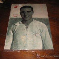 Coleccionismo deportivo: PRUDEN DELANTERO CENTRO DEL MADRID LAMINA DEL MARCA. Lote 11450793