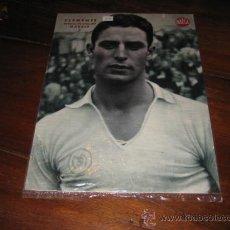 Coleccionismo deportivo: CLEMENTE DEFENSA DERECHO DEL MADRID LAMINA DEL MARCA. Lote 11450820