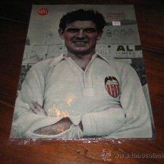 Coleccionismo deportivo: ITURRASPE MEDIO CENTRO DEL VALENCIA LAMINA DEL MARCA. Lote 11450879