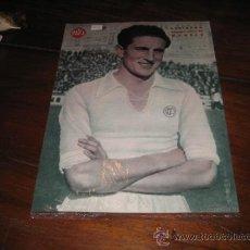 Coleccionismo deportivo: BARINAGA DELANTERO CENTRO DEL MADRID LAMINA DEL MARCA. Lote 11450921