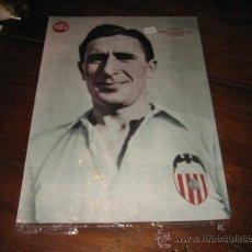 Coleccionismo deportivo: LELE MEDIO IZQUIERDO DEL VALENCIA LAMINA DEL MARCA. Lote 11450986