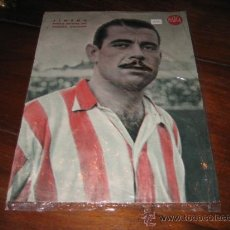 Coleccionismo deportivo: JIMENO DEFENSA DERECHO DEL ATLETICO AVIACION LAMINA DEL MARCA. Lote 12357456