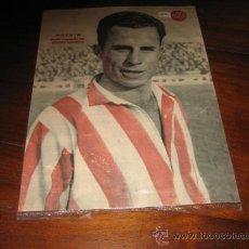 Coleccionismo deportivo: MACHIN MEDIO IZQUIERDO DEL ATLETICO AVIACION LAMINA DEL MARCA. Lote 12357457