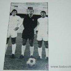 Coleccionismo deportivo: REAL MADRID : RECORTE DE SANTILLANA, CORRAL Y AGUILAR. 1971. Lote 11798225