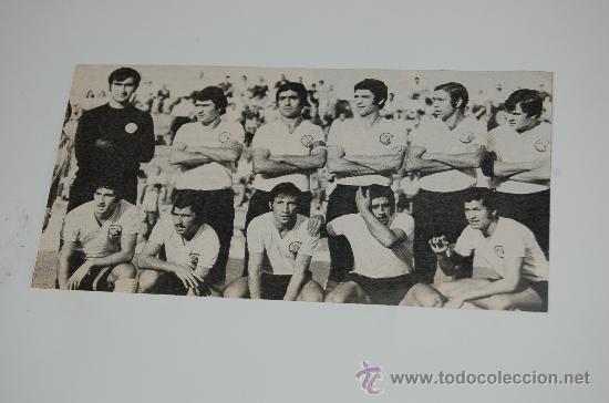 UNIÓN DEPORTIVA SALAMANCA : FOTO DE 1974 (Coleccionismo Deportivo - Carteles de Fútbol)
