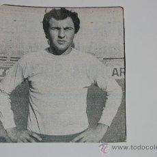 Colecionismo desportivo: UNIÓN DEPORTIVA LAS PALMAS : RECORTE DE MORETE. HACIA 1975. Lote 11995026