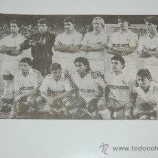 Coleccionismo deportivo: REAL MADRID : RECORTE DE LA TEMPORADA 89-90. Lote 12483741
