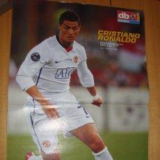 Coleccionismo deportivo: POSTER MANCHESTER UNITED : CRISTIANO RONALDO 2008/09. Lote 23756194