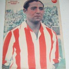 Coleccionismo deportivo: CARTEL DE JUGADOR DE FUTBOL - MILLAN DEFENSA DEL GRANADA - MARCA - MIDE 32 X 24 CMS.. Lote 14940480