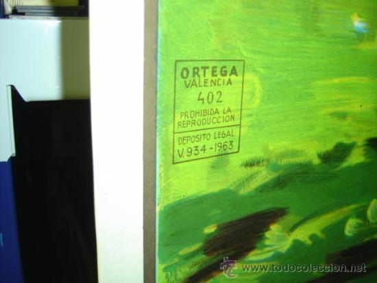 Coleccionismo deportivo: PRECIOSO CARTEL GRANDE DE FUTBOL - SIN IMPRIMIR - AÑO 1963 LITOGRAFIA - Foto 5 - 165042693