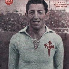 Coleccionismo deportivo: CELTA DE VIGO POSTER MARCA ( YAYO JUGADOR AÑOS 40 ). Lote 26805961