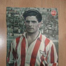 Coleccionismo deportivo: CARTEL DE FUTBOL MARCA. FUTBOLISTA HERNANDEZ EXTREMO DERECHA DEL ATLETICO AVIACION. Lote 15194114