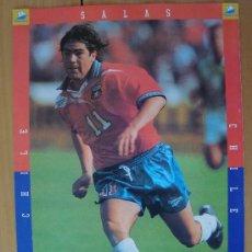Coleccionismo deportivo: POSTER CHILE : SALAS MUNDIAL FRANCIA 1998. Lote 26394575