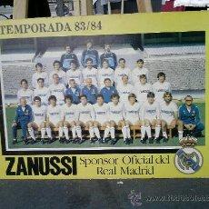 Coleccionismo deportivo: REAL MADRID TEMPORADA 83/84 . Lote 15855576