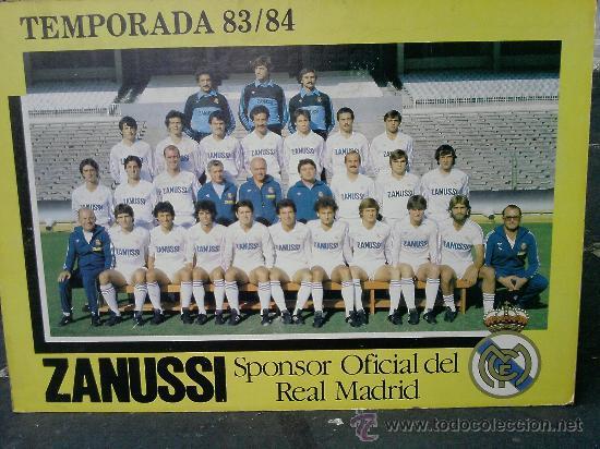 Coleccionismo deportivo: REAL MADRID TEMPORADA 83/84 - Foto 2 - 15855576