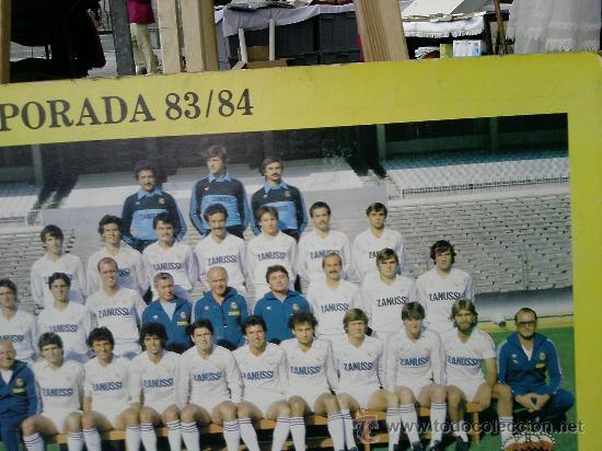 Coleccionismo deportivo: REAL MADRID TEMPORADA 83/84 - Foto 3 - 15855576
