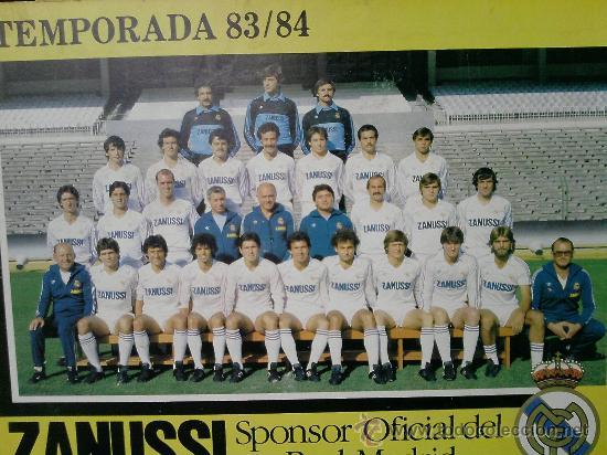 Coleccionismo deportivo: REAL MADRID TEMPORADA 83/84 - Foto 4 - 15855576