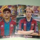 Coleccionismo deportivo: LAMINAS KAPPA LANZADAS POR SPORT JORDI Y NADAL. Lote 25642873