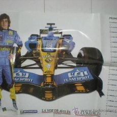 Coleccionismo deportivo: POSTER DE FERNANDO ALONSO MUNDIAL 2005. Lote 17076708