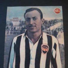 Coleccionismo deportivo: ANTIGUO CARTEL POSTER DE LA REVISTA MARCA. BASILIO CASTELLON.. Lote 15888989