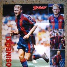 Coleccionismo deportivo: PROSINECKI - FC BARCELONA - POSTER DIARIO SPORT. Lote 17603084