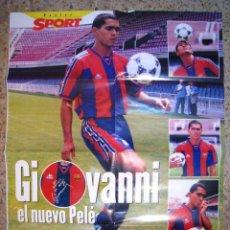 Coleccionismo deportivo: GIOVANNI - FC BARCELONA - POSTER DIARIO SPORT. Lote 17603109