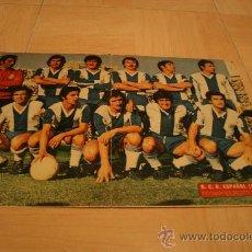 Coleccionismo deportivo: POSTER AS COLOR ESPAÑOL TEMPORADA 74-75. Lote 21355763