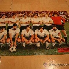 Coleccionismo deportivo: POSTER AS COLOR SALAMANCA TEMPORADA 74-75. Lote 18524664