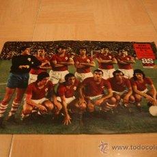 Coleccionismo deportivo: POSTER AS COLOR MURCIA TEMPORADA 73-74. Lote 18525207