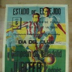 Coleccionismo deportivo: CARTEL DE FUTBOL. ESTADIO DE EL EJIDO. CAMPEONATO NACIONAL DE AFICIONADO.. Lote 18701749